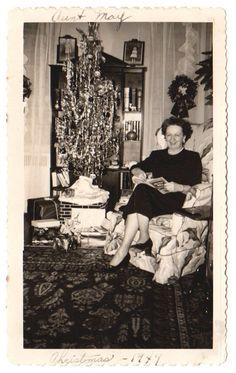 AUNT MAY - CHRISTMAS 1949 - Noël au passé