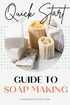 The quick start guide you've been looking for to melt and pour soap making! Soap Making Recipes, Soap Recipes, Handmade Gifts For Friends, Exfoliating Soap, Soap Making Supplies, Soap Base, Milk Soap, Soap Molds
