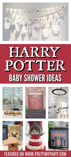 Home Remodel Porch Harry Potter Baby Shower Ideas on Pretty My Party.Home Remodel Porch Harry Potter Baby Shower Ideas on Pretty My Party Harry Potter Onesie, Harry Potter Nursery, Harry Potter Baby Shower, Harry Potter Theme, Harry Potter Diy, Baby Shower Themes, Baby Boy Shower, Baby Shower Decorations, Shower Ideas