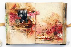 A bit emotional Journal Page (Family Odyssey Journal) - with Art Recipe and step-by-step