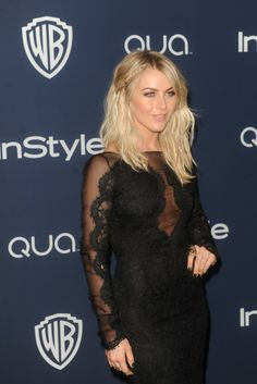 Julianne Hough at the InStyle and Warner Bros. Golden Globes after party. [Photo by Tyler Boye]