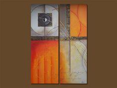 cuadros abstractos minimalistas para pared