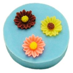 1cm flower F0042 Fondant Mold Silicone Sugar mini mold Craft Molds DIY Cake Decorating ** Continue to the product at the image link.(This is an Amazon affiliate link and I receive a commission for the sales)