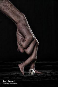 100 Unbelievable Photoshop Hand Manipulation Art