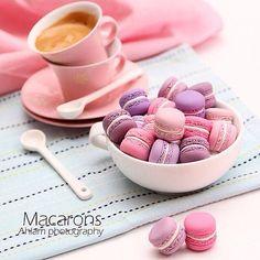 Macarons Made by me out of clay  Yay ? or Nay?  من تنفيذي بالصلصال  طريقة العمل في كتابي ( فن التشكيل بالصلصال ) #Padgram