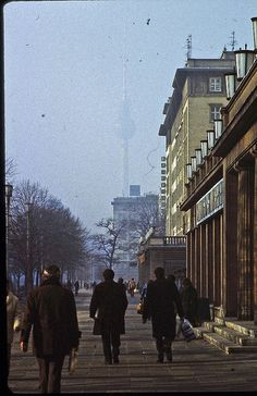 East Berlin - February 1982 - Karl-Marx-Allee by LimitedExpress, via Flickr
