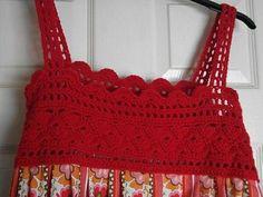 free crochet yoke pattern