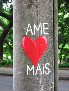 Love More ! Parque Guinle, Rio de Janeiro © julie ansiau