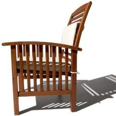 Strathwood Gibranta All-Weather Hardwood Arm Chair from Amazon