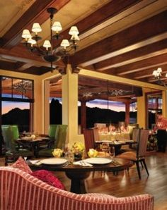 Talavera Restaurant at Four Seasons Scottsdale has great food and a fabulous patio