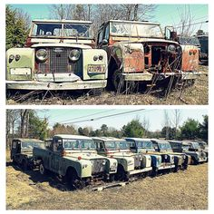 Land Rover Graveyard Gallery By Maine Artist Doug Mills (Rockycoastnews.com)…