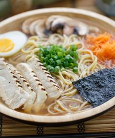 runninginthesky: Chicken Miso Ramen by ric_w Ramen Recipes, Cooking Recipes, Chicken Recipes, Arugula Salad, Bulgur Salad, Couscous Salad, Lentil Salad, Chickpea Salad, Bean Salad