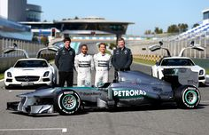 I would say 2013 is off to a great start! Mercedes GP F1  http://metro.co.uk/2013/04/26/mercedes-promise-lewis-hamilton-title-shot-after-start-work-on-new-car-3667802/