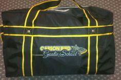 Custom Bag made for Carson Bird Goalie School  fb.com/GitchSportsWear Instagram: GitchSportsWear Hockey Bags, Coach Bags, Coaching, Instagram, Coach Handbags, Coach Purses