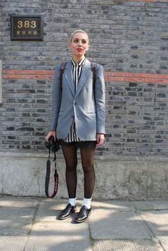 Shanghai Fashion Week Street Shot