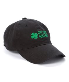 Look what I found on #zulily! Black 'Get Your Irish On' Baseball Cap #zulilyfinds