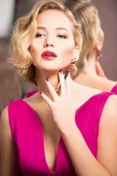 Jennifer Lawrence, behind-the-scenes for Dior... - Daily Actress