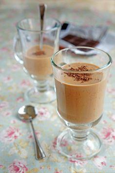 Парфе с кофейным вкусом, десерт, пошаговый фото рецепт, кулинарный блог