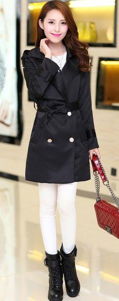 2014 Autumn Cotton Trench Coat YRB0307 £27.30