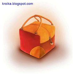 The unusual cube bag .. Comments: LiveInternet - Russian Service Online Diaries