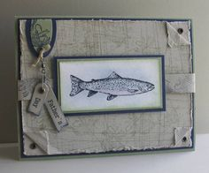 Father's Day Stampin Up Angler
