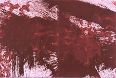 Hermann Nitsch, Splatter Painting, 1983
