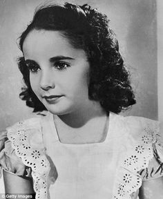 British-born child actor Elizabeth Taylor arrives in America at the age of seven