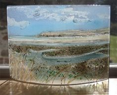 fused glass landscapes - Google Search
