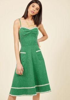 ModCloth - ModCloth Plaza Perfection Midi Dress in XL - AdoreWe.com