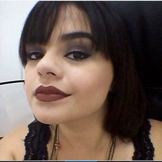 Maquiagem da @luanamchaves, do Beauty Team da NYX Teresina, usando o Mechanical Pencil Lip na cor Cocoa