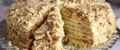 """Cake """"Minute"""" without baking Ingredients: For cake: 3 tbsp. 1 Bank of condensed milk; of baking soda (to repay vinegar). Russian Cakes, Russian Desserts, Russian Recipes, Cheesecake Recipes, Dessert Recipes, Napoleon Cake, Easy Cake Decorating, Food Cakes, Baking Cakes"""