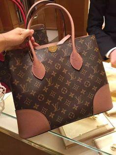 Louis Vuitton Monogram Coated Flandrin Bag M41597 Rose http://www.luxwomenstore.com #louis #vuitton #flandrin #m41597 #luxwomenstore