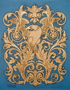 Victorian Carving – Cover of JC Journal Sep/Oct 2009 +++ by Paul Burnett