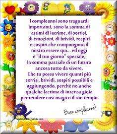 I compleanni sono traguardi importanti, sono la somma di attimi di lacrime, di sorrisi... #compleanno #buon_compleanno #tanti_auguri