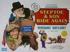 Diana Dors, Wilfrid Brambell, and Harry H. Corbett in Steptoe and Son Ride Again (1973)