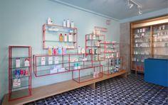 Farmacia de los Austrias (De Los Austrias Pharmacy) by Stone Designs, 2012 Madrid (Spain) #StoneDesigns