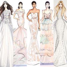 Light as a feather  #fashionsketch #fashionillustration #fashionillustrator…