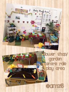Flower shop role play