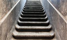 Escalier marbre Hôtel National des Arts et Métiers Paris