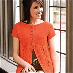 """Ravelry: 105-9 Jacket with lace pattern and raglan sleeve in """"Muskat"""" pattern by DROPS design"""