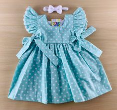 Baby Girl Dress Design, Girls Frock Design, Baby Girl Dress Patterns, African Dresses For Kids, Little Girl Dresses, Girls Dresses, Frocks For Girls, Kids Frocks, Cute Little Girls Outfits