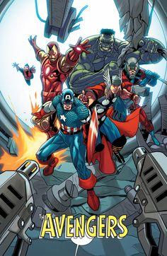 #Avengers #Fan #Art. (The Avengers) By: Salvador Larroca. (THE * 5 * STÅR * ÅWARD * OF: * AW YEAH, IT'S MAJOR ÅWESOMENESS!!!™)[THANK U 4 PINNING!!!<·><]<©>ÅÅÅ+(OB4E)           https://s-media-cache-ak0.pinimg.com/474x/82/77/31/8277312b2a5ed96b62ab148c1eca49a7.jpg