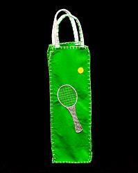 Tennis Wine Bag