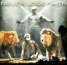 Never lose faith. (This is one of the most powerful illustrations. Trust in Jehovah.)