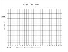 Blank Weight Loss Chart...This is awesome! I'm 15 pounds