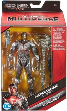 DC Justice League Movie Multiverse Steppenwolf Series Cyborg Action Figure