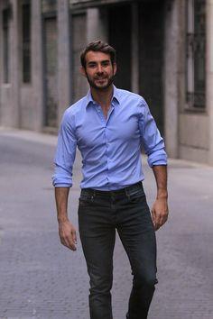 Elle Trendsetter » Dani wears: la camisa azul