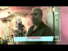 Proyecto Salsa - Grabación Final Percusión / Clip 2 - YouTube