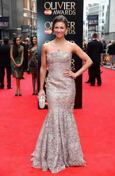 The Laurence Olivier Awards - Red Carpet Arrivals Summer Strallen
