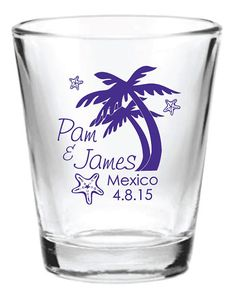 48 Personalized Destination Beach Wedding Favor 1.5oz by Factory21, $106.70